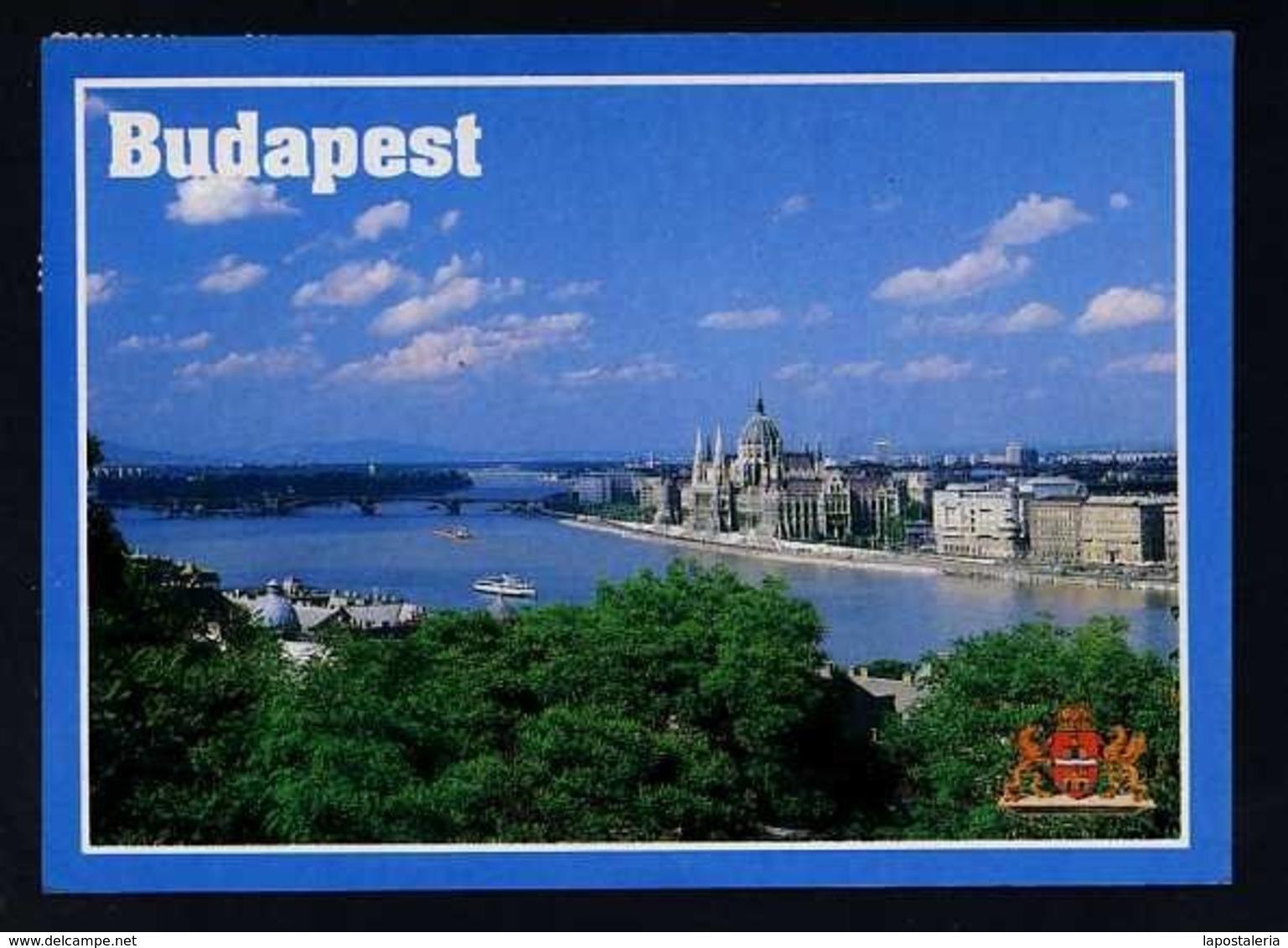Hungría. Budapest *View Of The Budapest* Circulada 1992. - Hungría