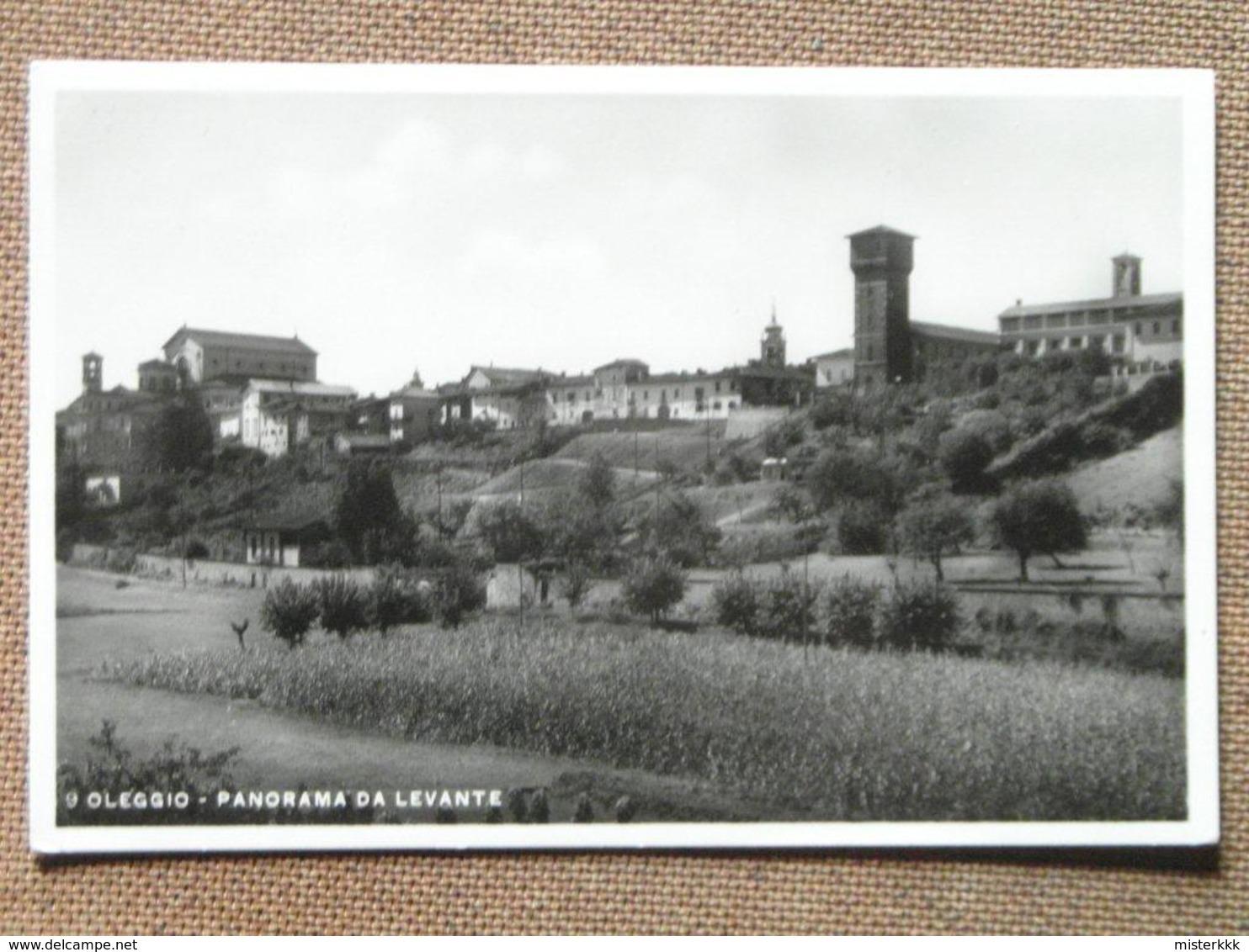 OLEGGIO -PANORAMA DA LEVANTE  -  1940  -  - -FP  --BELLISSIMA  - - Unclassified