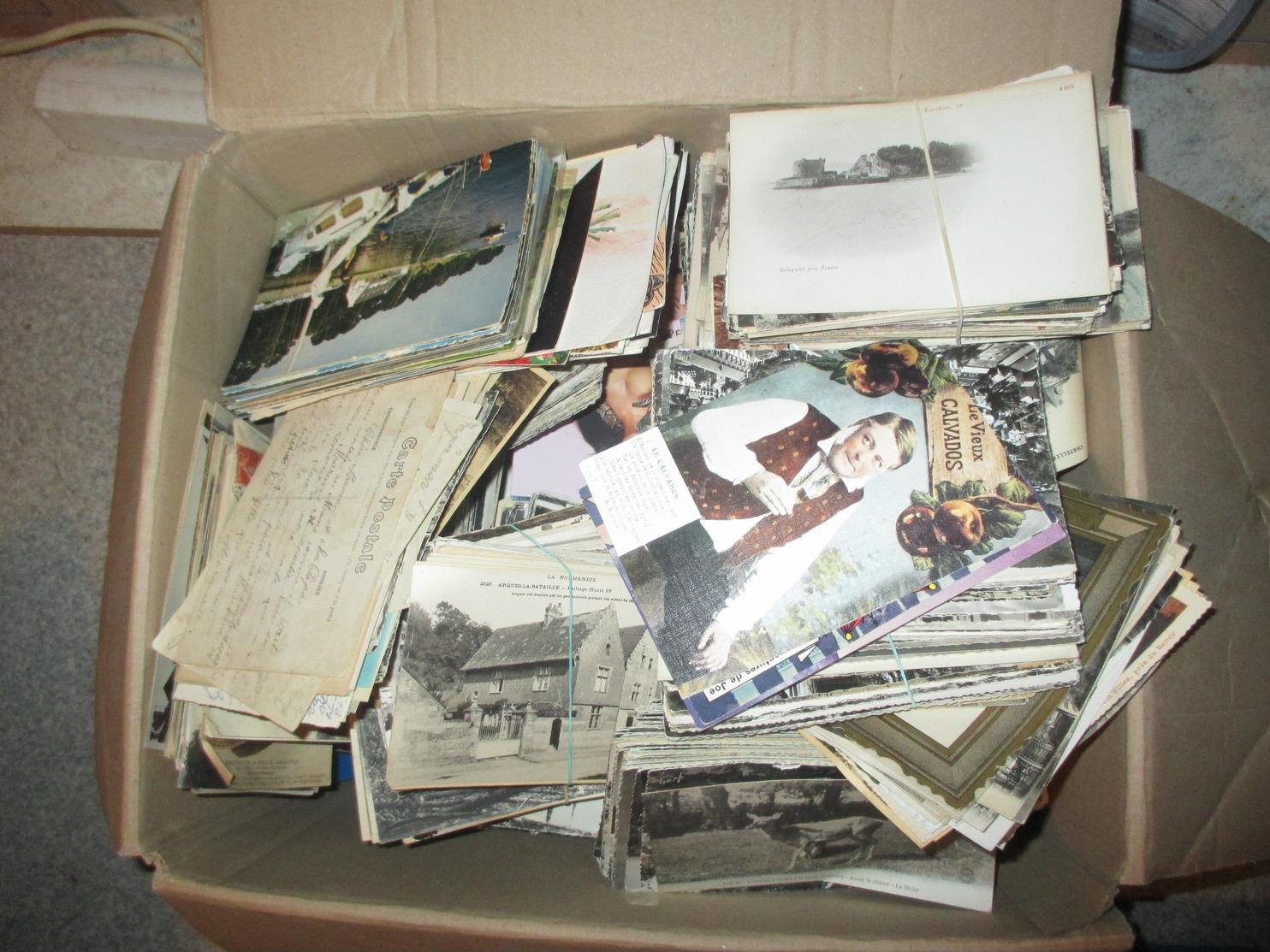Lot 500 Cartes Postales. Cpa , Cpsm,  France Etrangére,divers, Tout Venant - 500 Karten Min.