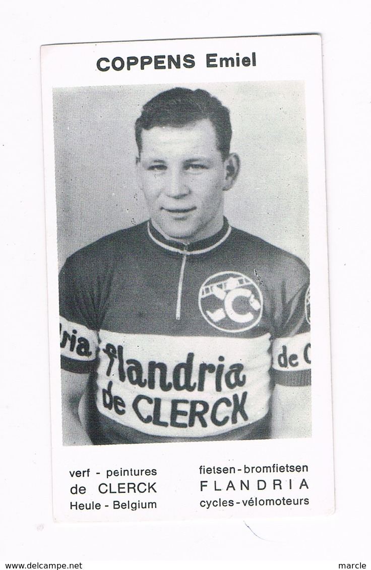 COPPENS Emiel  Wielrenner Coureur Cycliste  Flandria - Radsport
