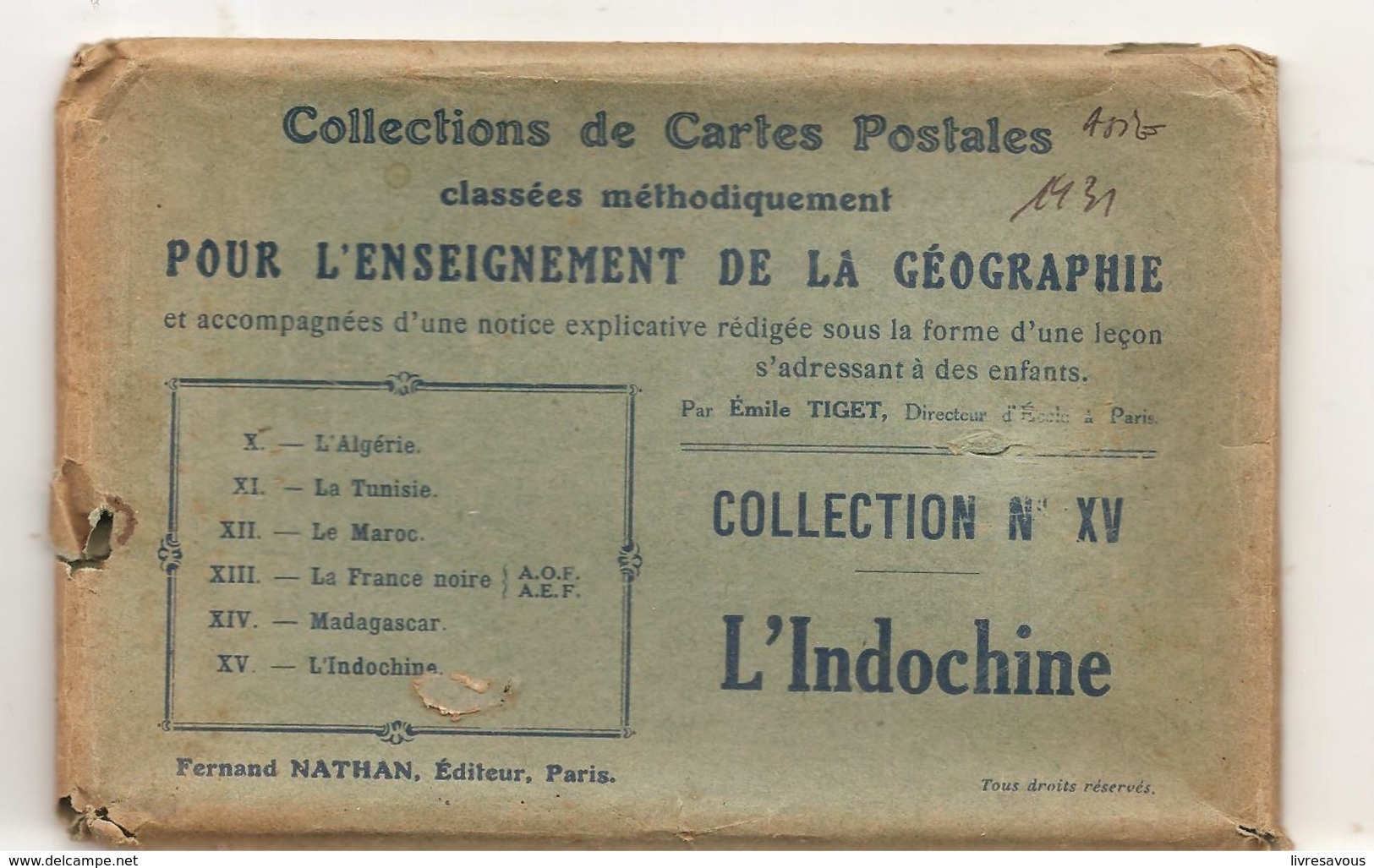 CPA Indochine Un Marché Dans Une Tonkinoise - Cartes Postales