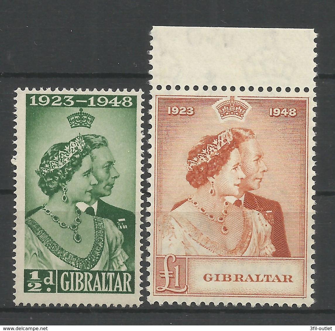 (TV 01557)  Gibilterra  Stamps 1948 - Gibraltar