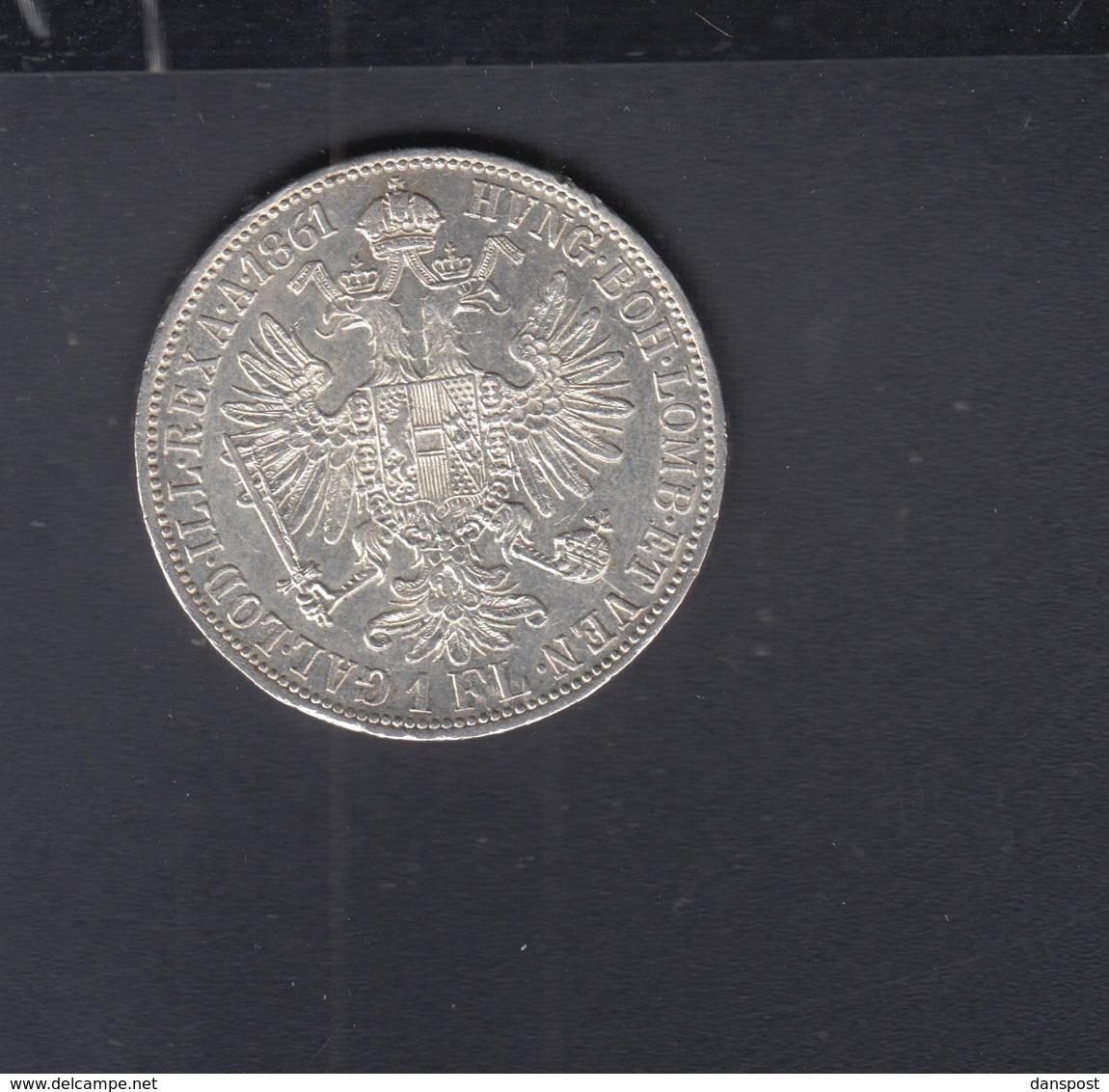 Österreich 1 Florin 1861 A - Austria