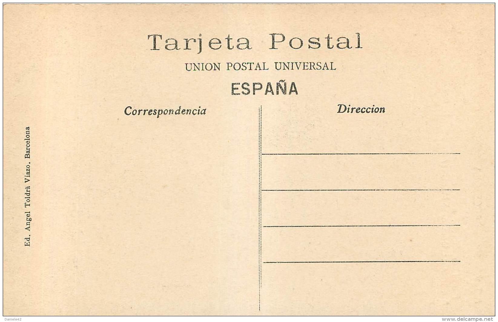 ESPAÑA -  BARCELONA - CONSTRUCCIONES MODERNAS - PASEO DE GARCIA NUM 35 - ARQUITECTO L. DOMENECH MONTANER - Barcelona