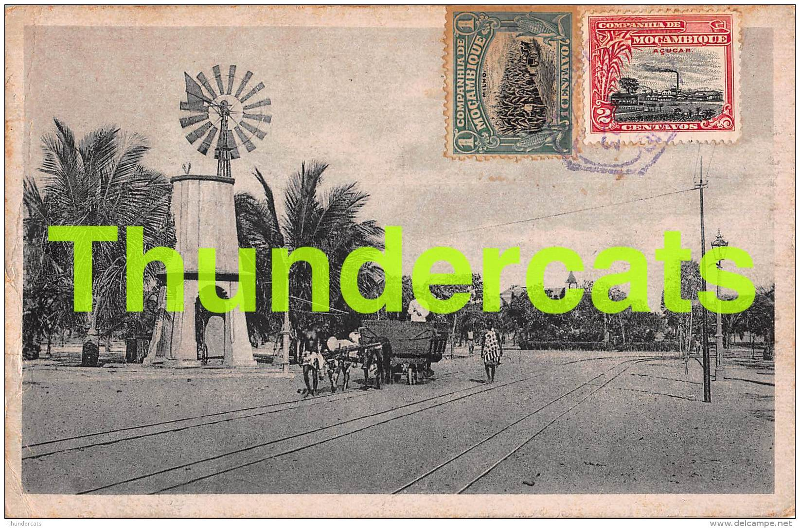 CPA MOCANBIQUE  GENERAL VIEW  BEIRA - Mozambique