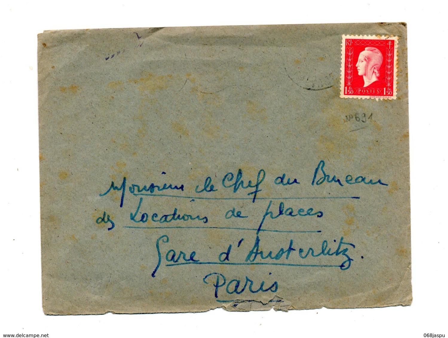 Lettre Cachet ? Sur Dulac - Postmark Collection (Covers)