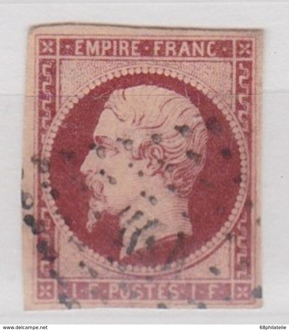 FRANCE YT N°18 - 1853-1860 Napoléon III