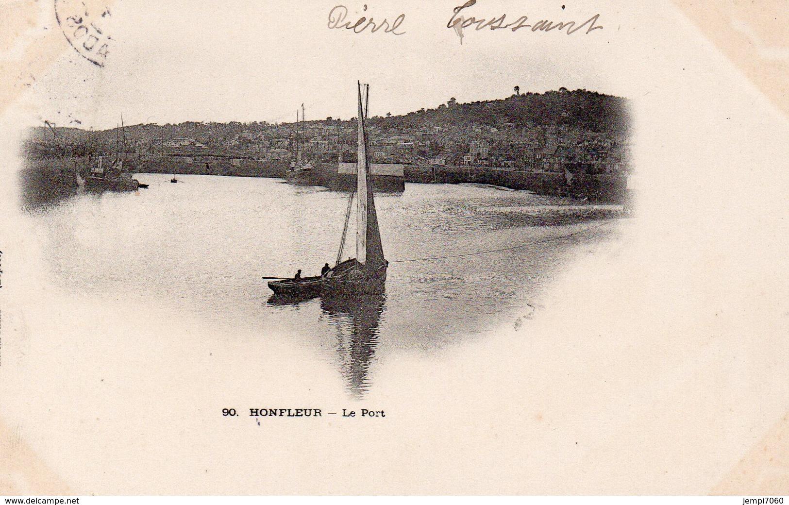 Honfleur ; Le Port - Honfleur