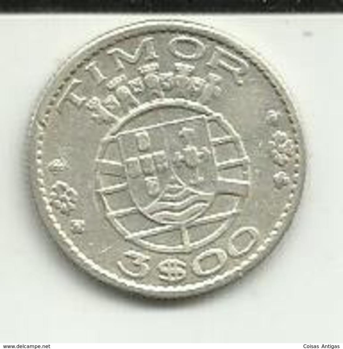 3 Escudos 1958 Timor - Timor