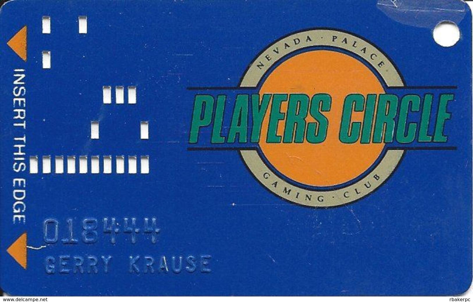 Nevada Palace Casino - Las Vegas NV - 2nd Issue Slot Card - Casino Cards