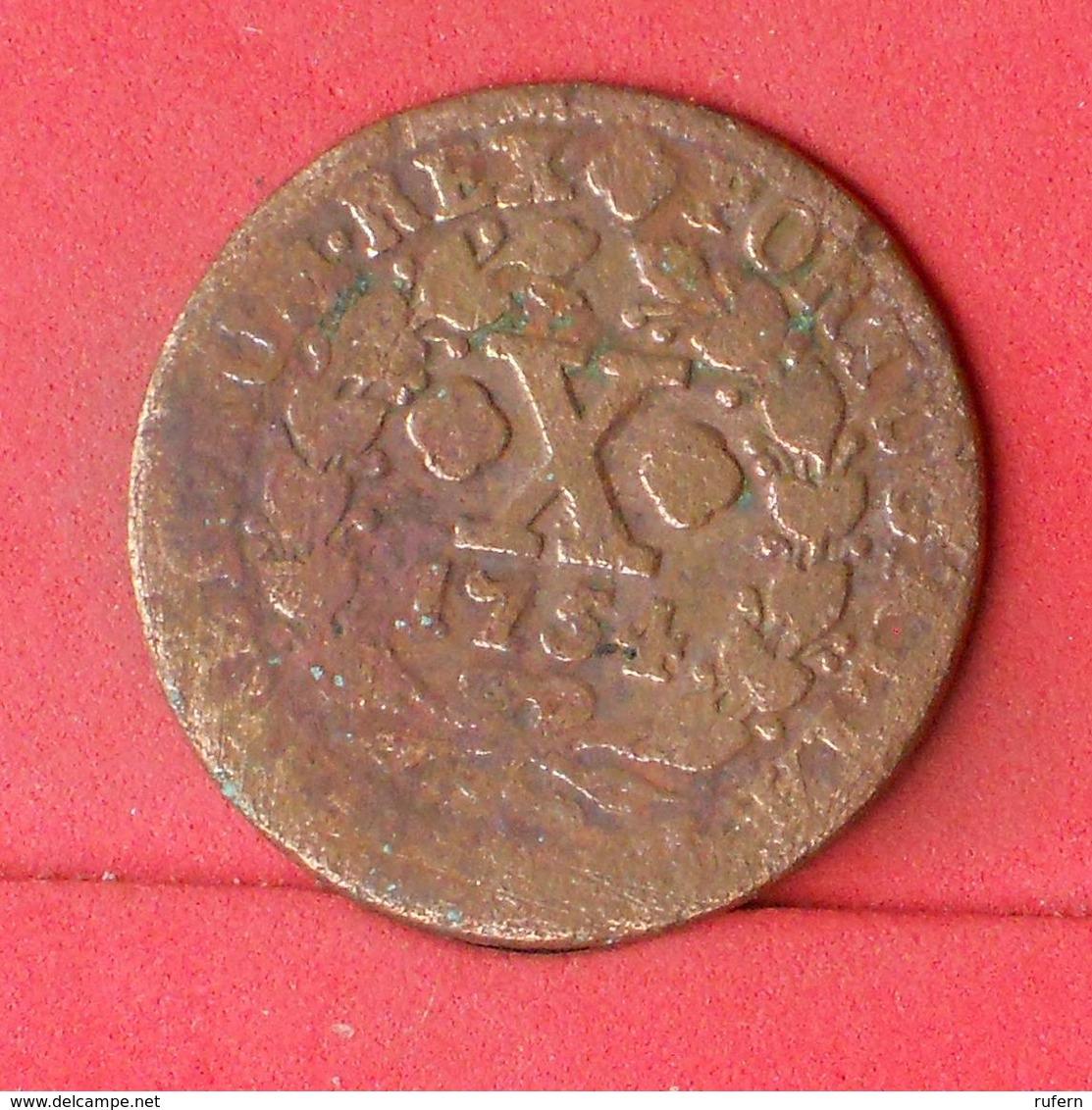 PORTUGAL 10 REIS 1754 -  (Nº23486) - Portugal