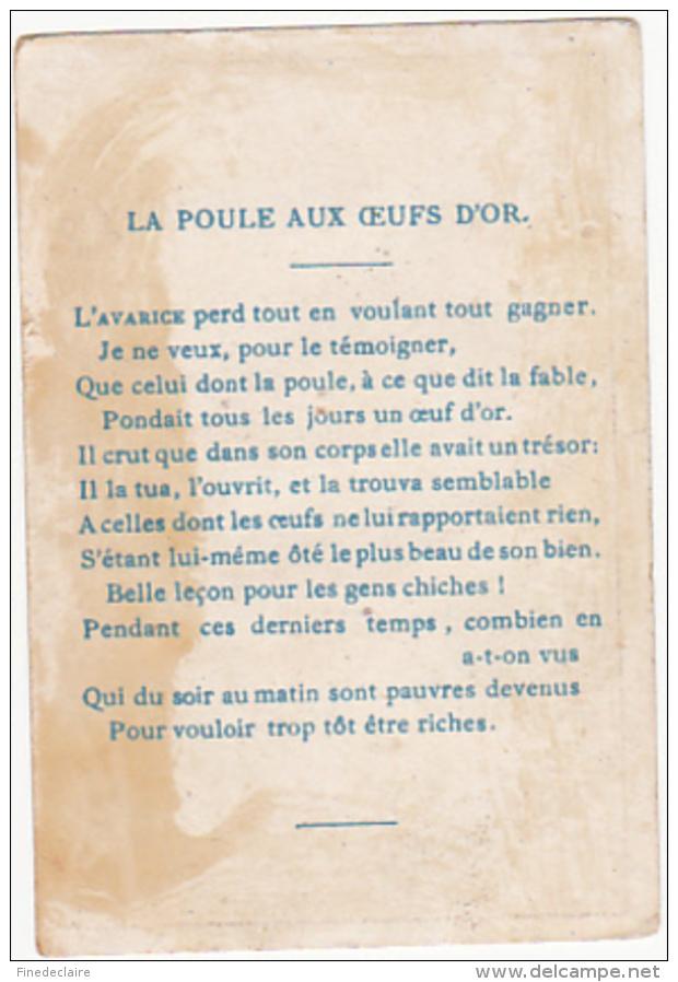 Chromo - La Poule Aux Oeufs D'or - Autres