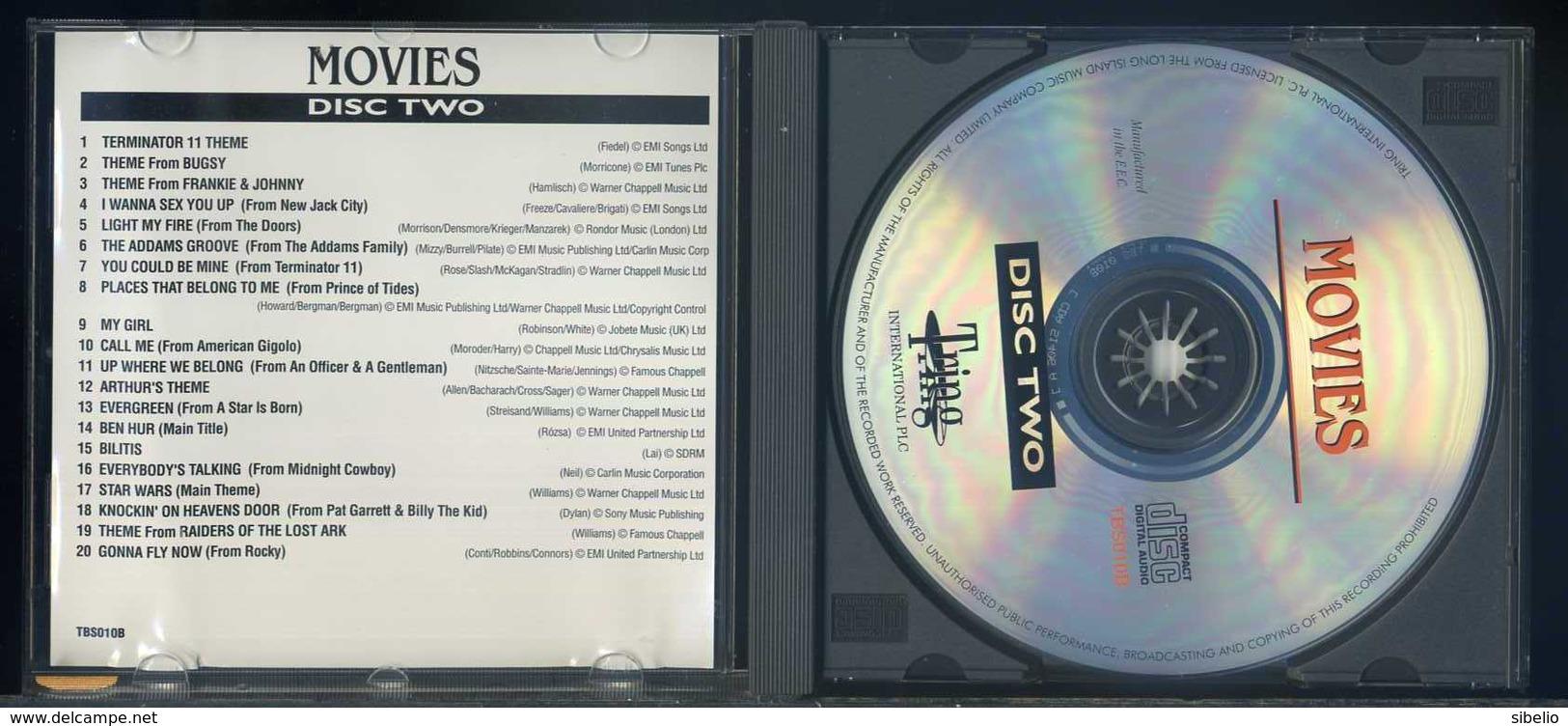 Movies - Disc Two - 20 Favorite Hits - 1CD - Filmmusik