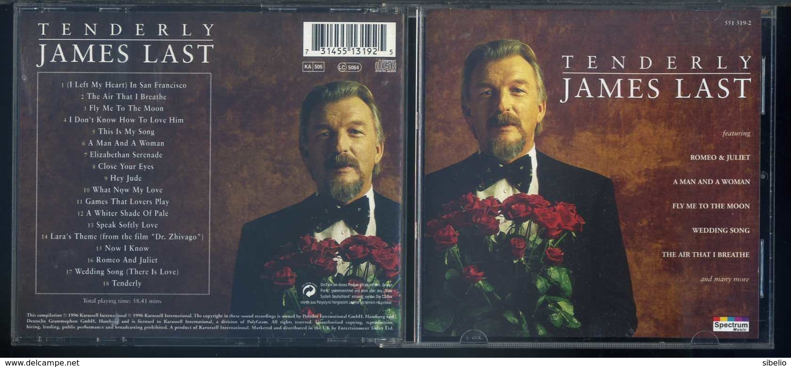 James Last - Tenderly - 1CD - Sonstige