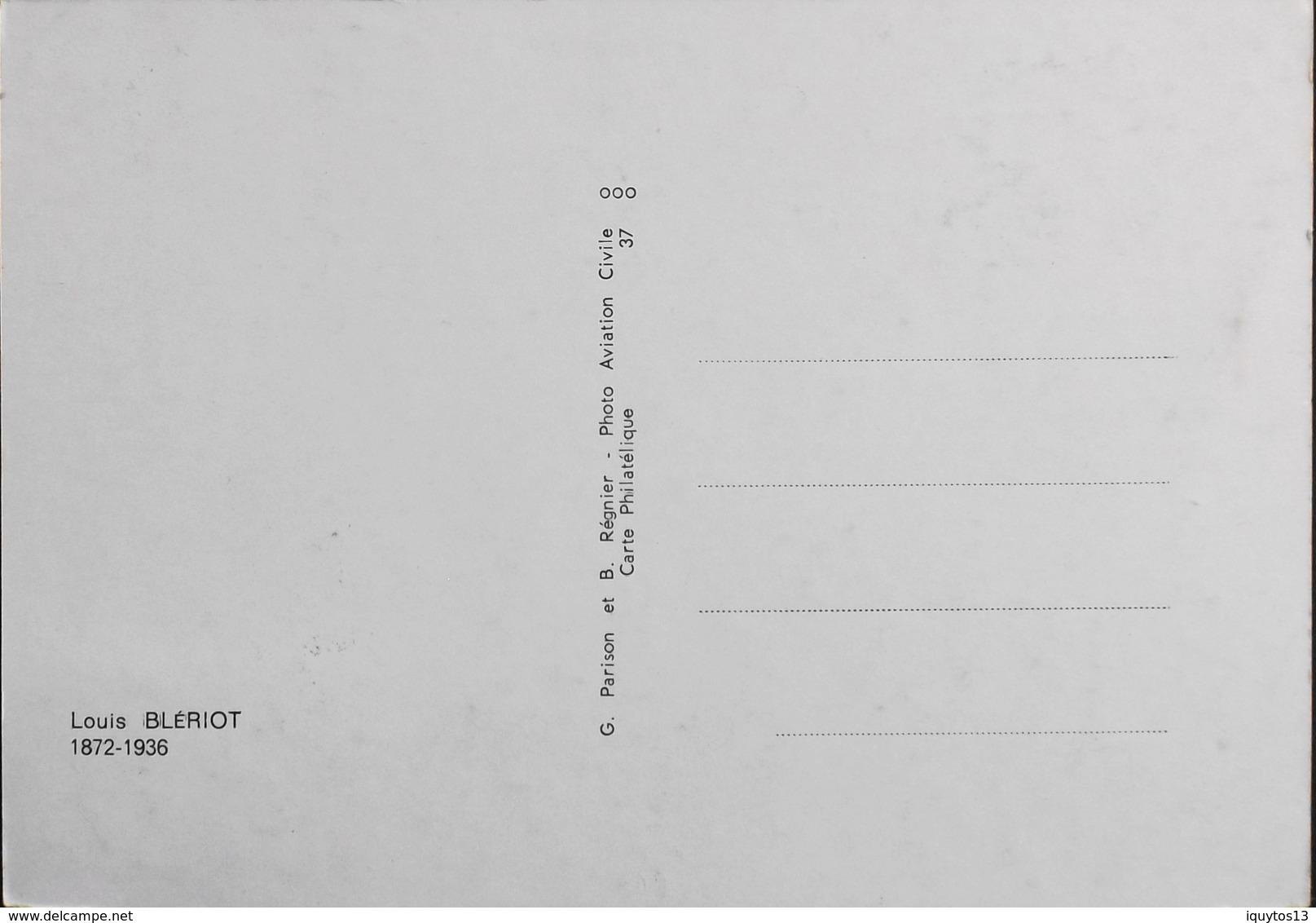 FR. 1972 Carte Philatélique 1er Jour - Louis BLERIOT - Cambrai Le 1.7.1972 - En TBE - 1970-1979