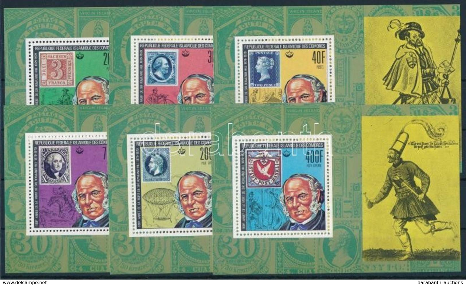 ** 1978 Rowland Hill Blokk Sor Mi 494-499 - Stamps