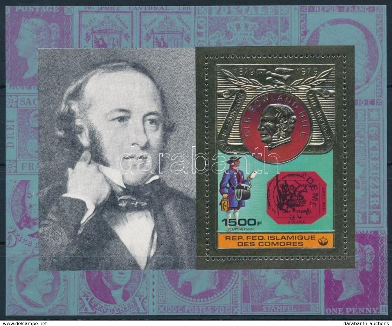 ** 1978 Rowland Hill Blokk Mi 198 - Stamps