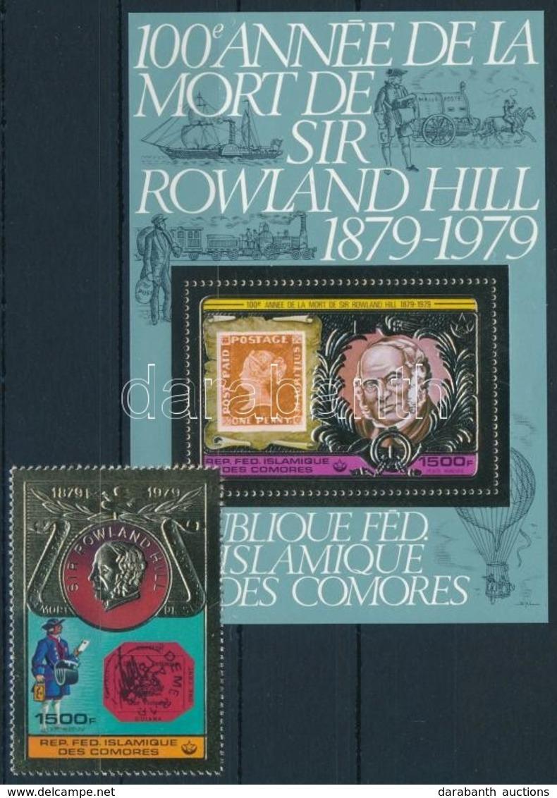 ** 1978 Rowland Hill Mi 501 + Blokk Mi 199 - Stamps