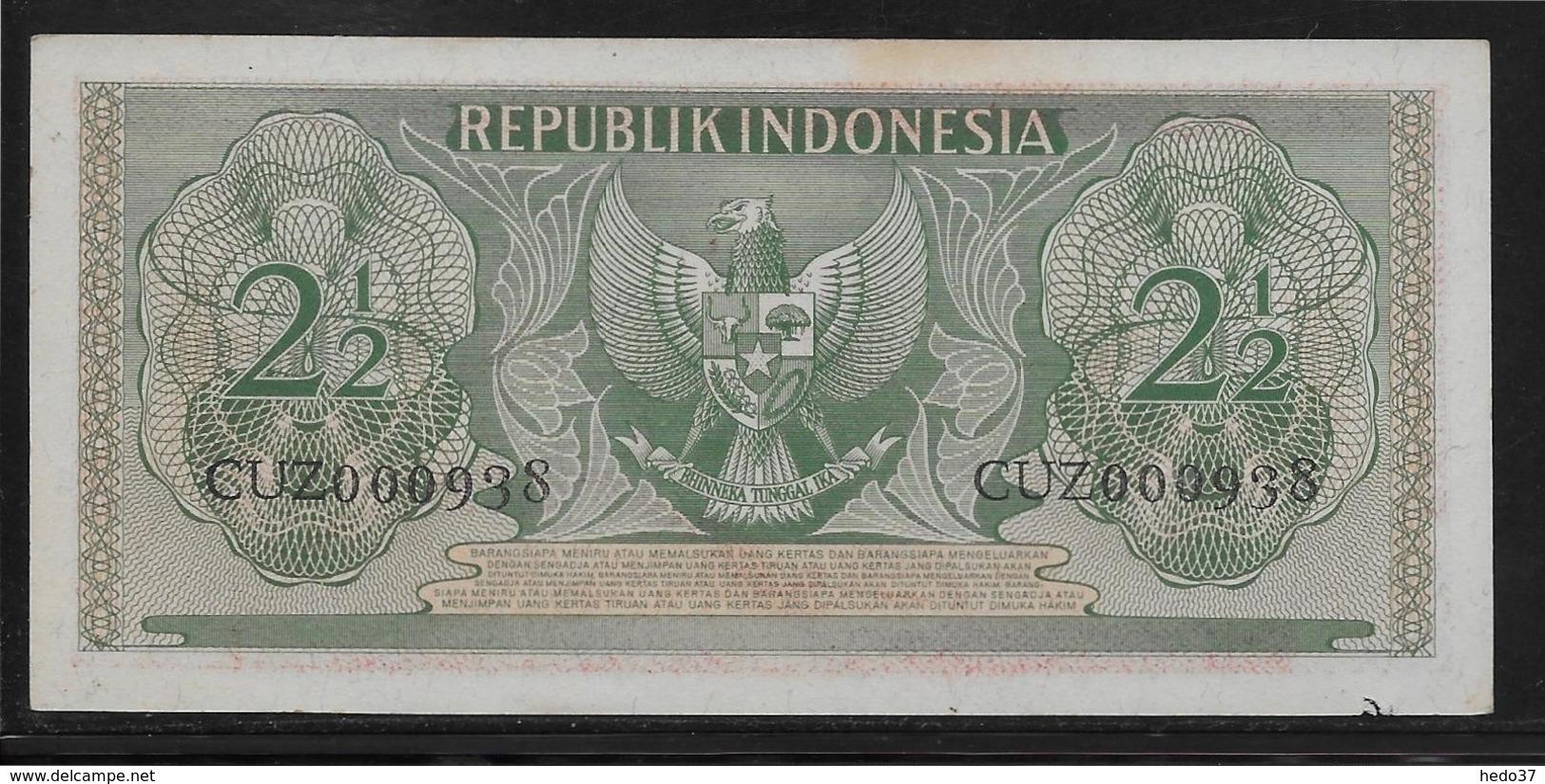 Indonésie - 2 1/2 Rupiah - Pick N°75 - SUP - Indonésie