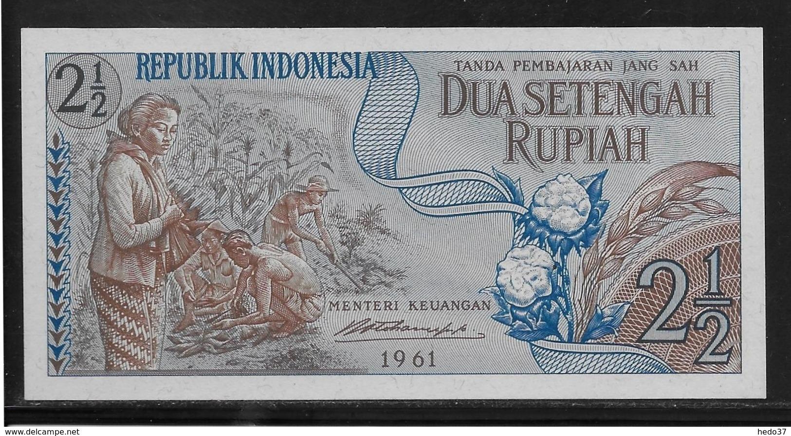 Indonésie - 2 1/2 Rupiah - Pick N°79 - NEUF - Indonésie