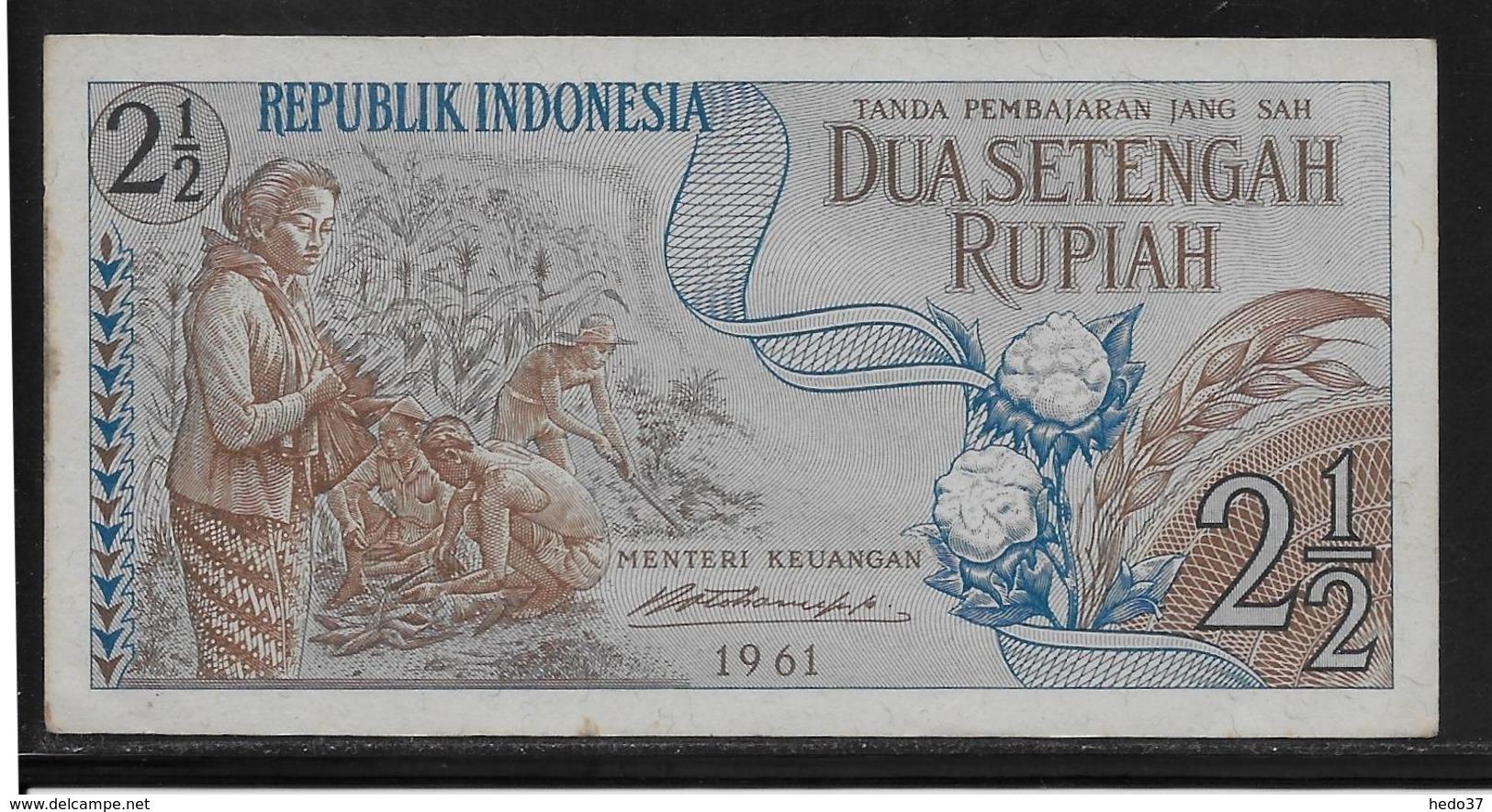 Indonésie - 2 1/2 Rupiah - Pick N°79 - SPL - Indonésie