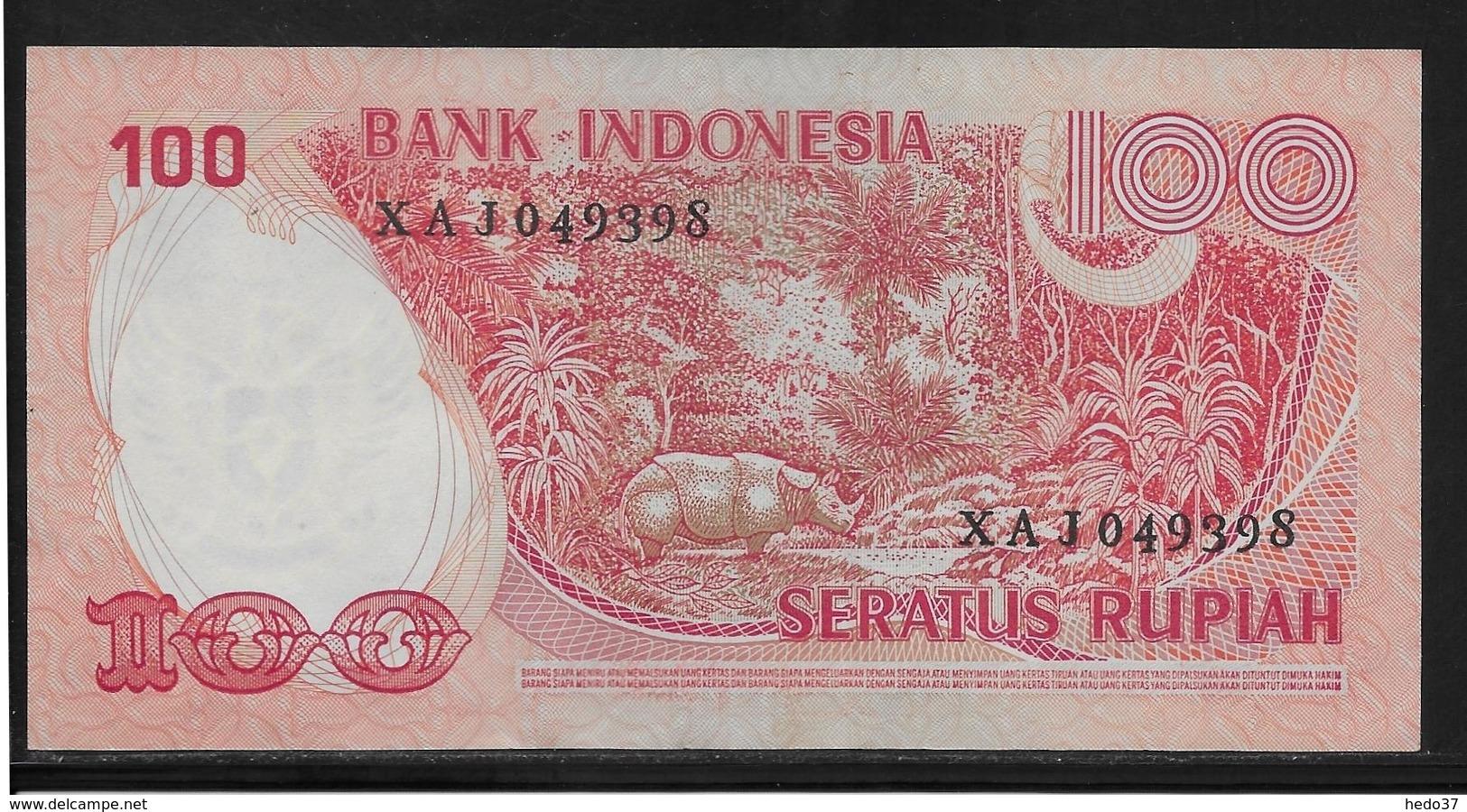 Indonésie - 100 Rupiah - Pick N°116 - TTB - Indonésie