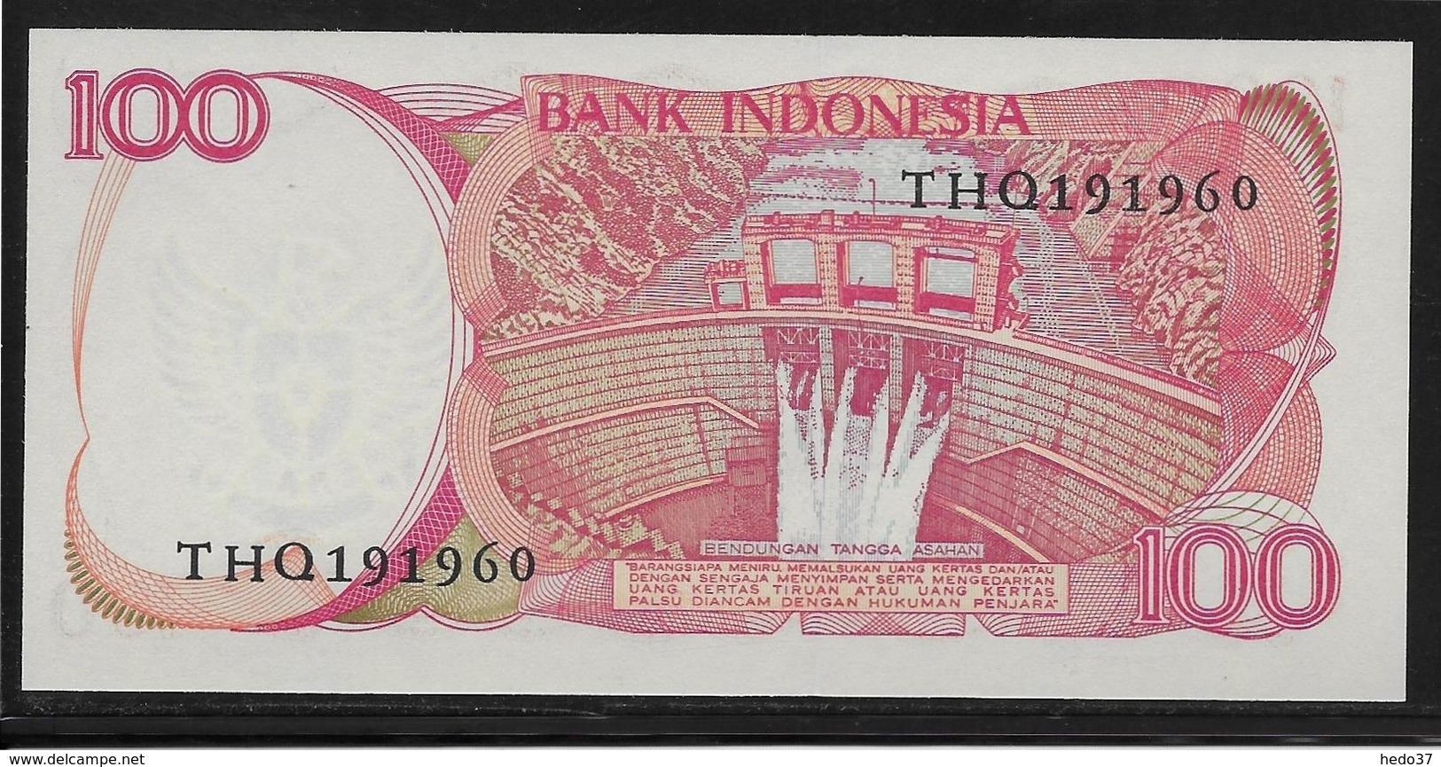 Indonésie - 100 Rupiah - Pick N°122a Gravé - NEUF - Indonésie