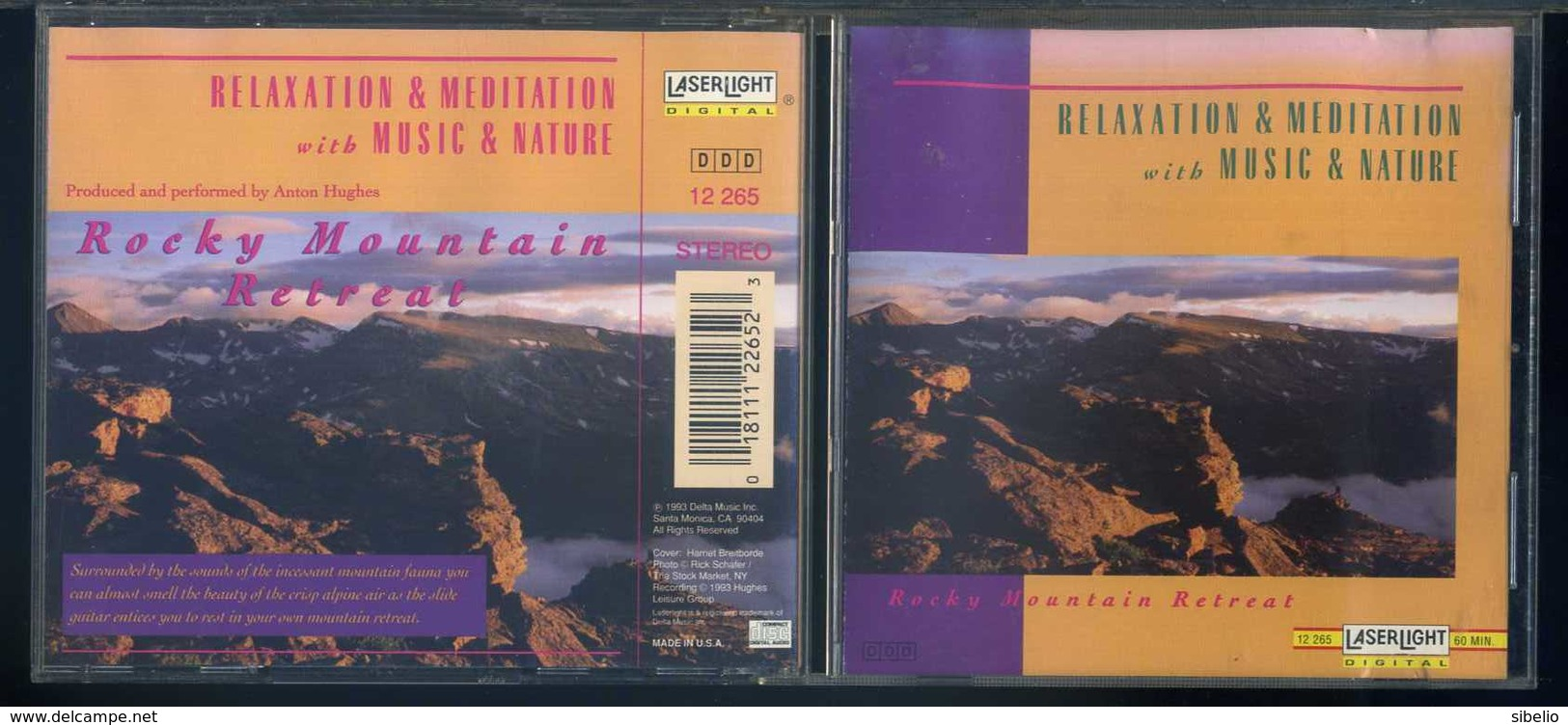 Relaxation & Meditation With Music & Nature - Rocky Mountain Retreat - 1CD - Musik & Instrumente