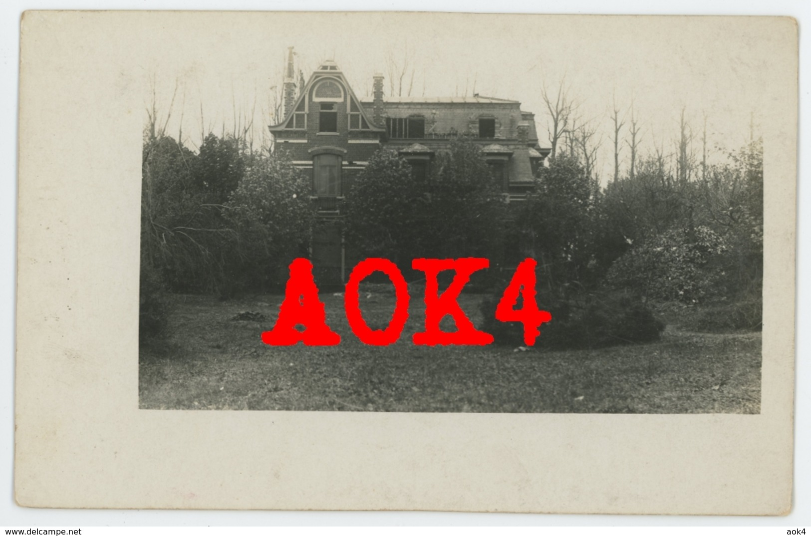 59 Nord QUESNOY SUR DEULE Chateau LIR 77 1918 Nordfrankreich Armentieres Comines Warneton Ploegsteert Flandern - France