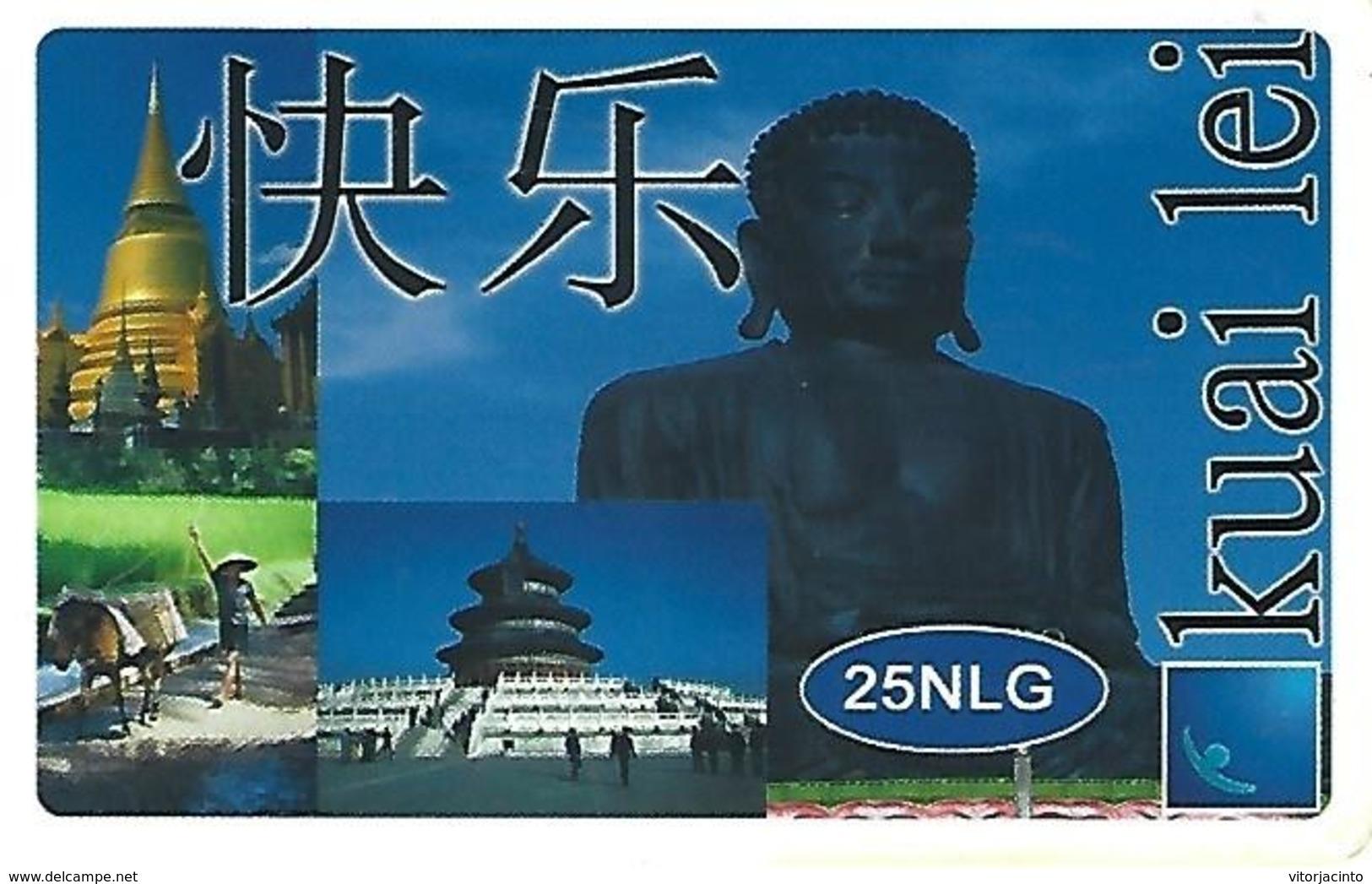 Kuai Lei 25NLG Prepaid Phonecard- China - Chine