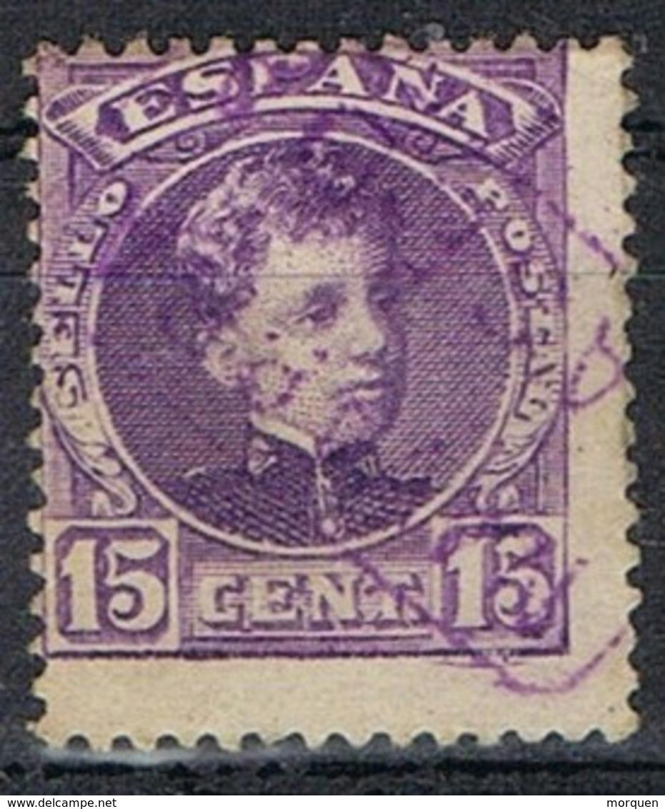 Sello 15 Cts Alfonso XIII, Carteria, CASEDA (Navarra), Num 246 º - 1981-90 Cartas