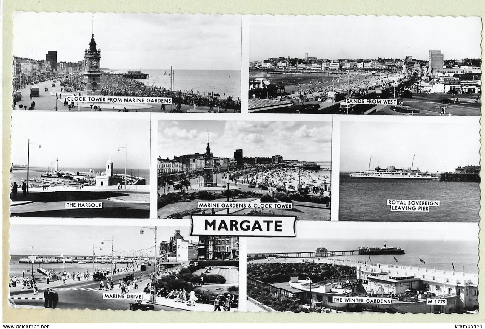 Margate 1964 Real Photo - Margate