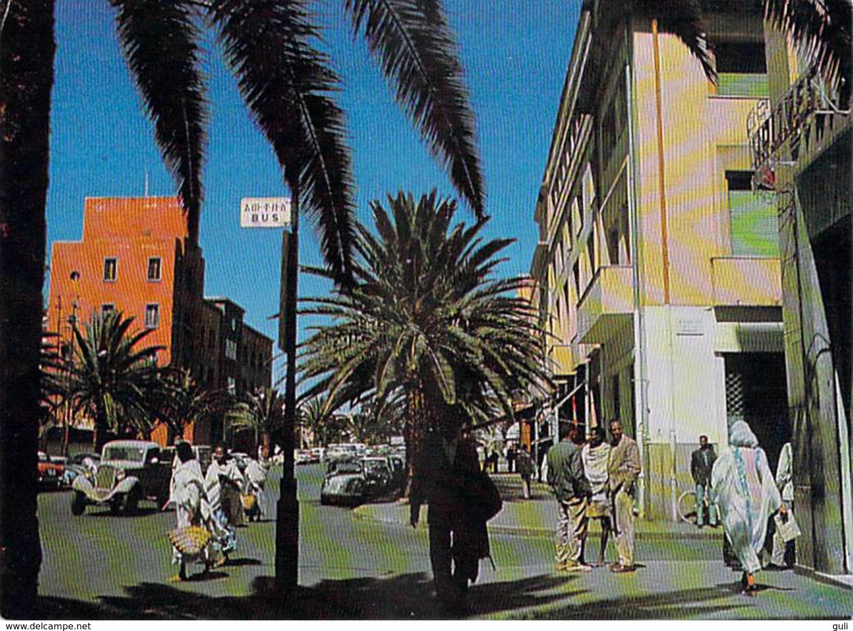 Afrique (Érythrée)-ETHIOPIE-Ethiopia ASMARA Street Scene ( Ethiopian Tourist Organization Addis Ababa: Photo Bernheim 2) - Erythrée