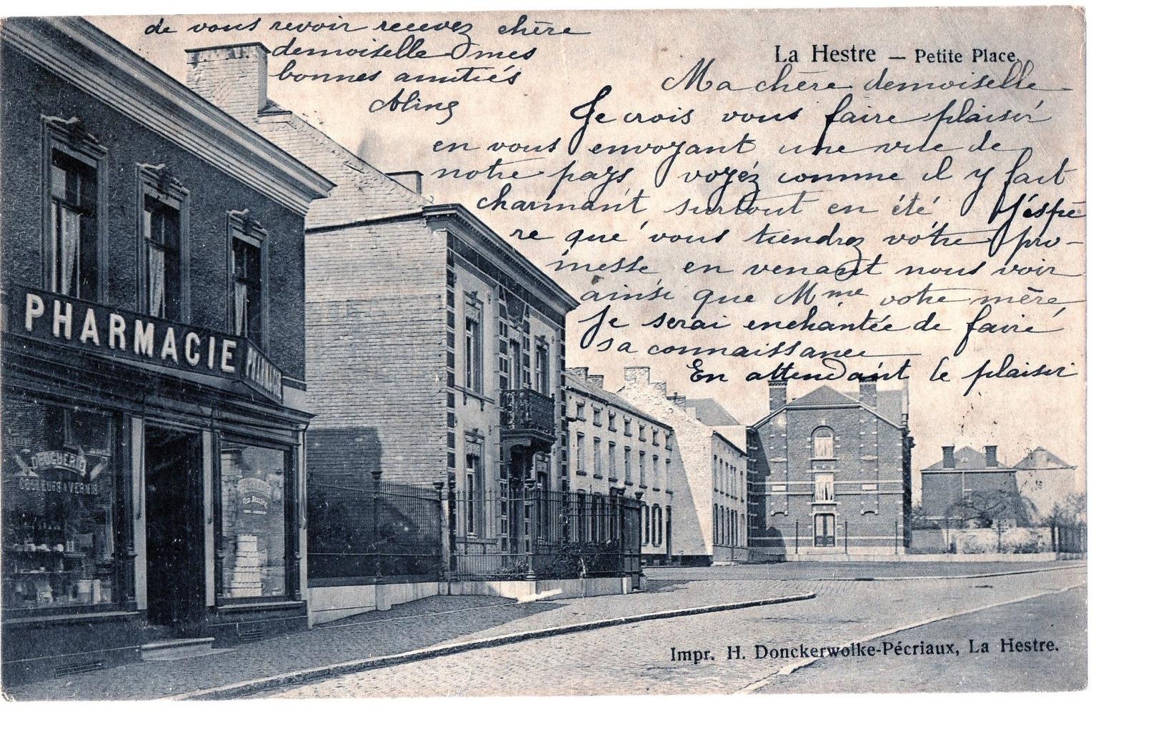 Hainaut : La Hestre (Manage). - Manage