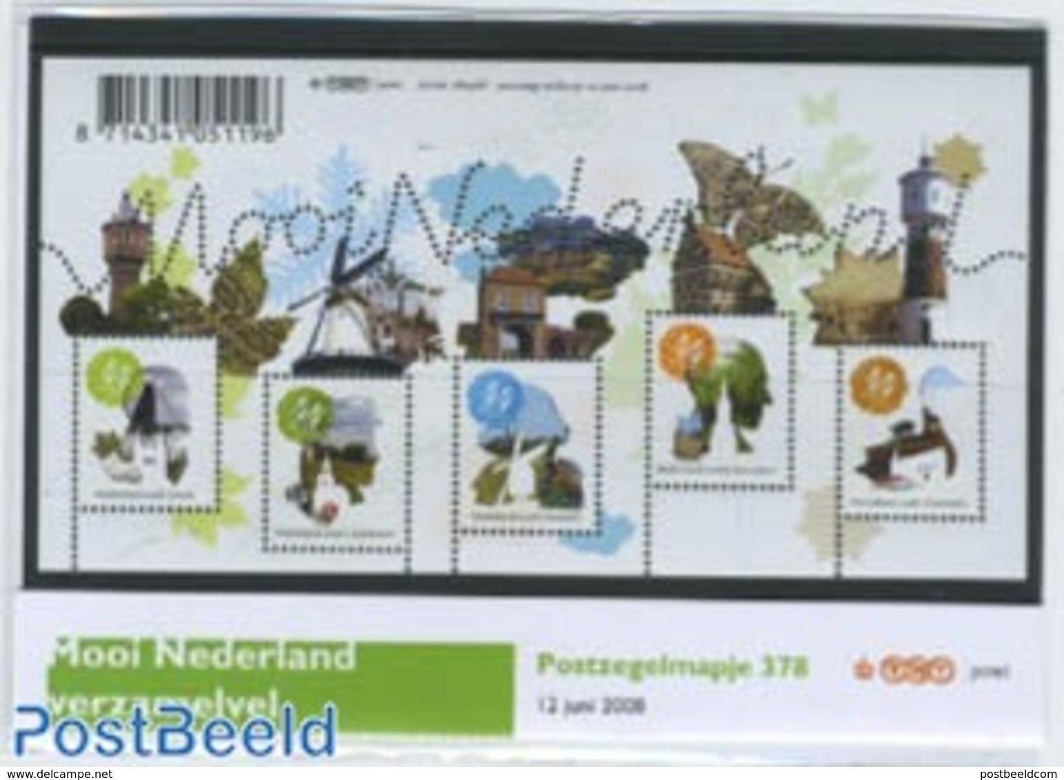 Netherlands 2008 Beautiful Holland Presentation Pack 378, (Mint NH), Various - Mills (Wind & Water) - Tourism - Ongebruikt