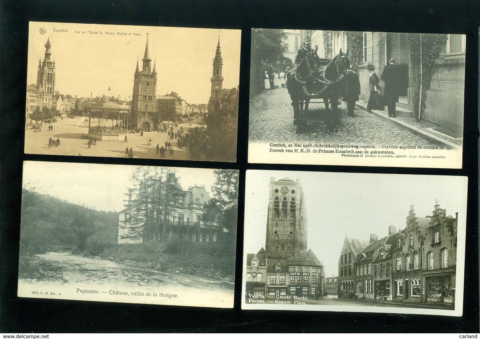 Beau Lot De 60 Cartes Postales De Belgique     Mooi Lot Van 60 Postkaarten Van België  - 60 Scans - Ansichtskarten