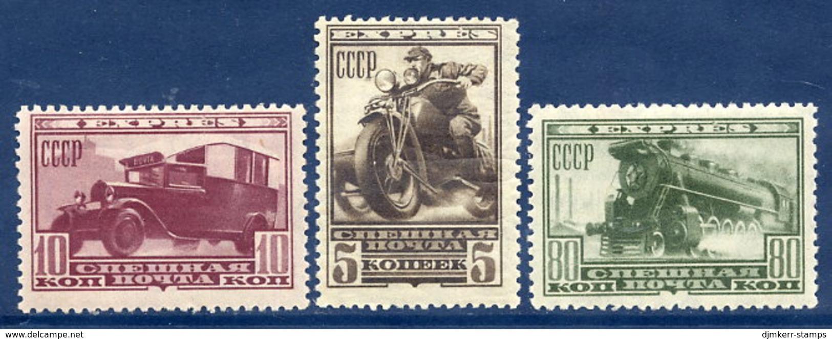 SOVIET UNION 1932 Express Set LHM / *.  Michel 407-09 - 1923-1991 USSR