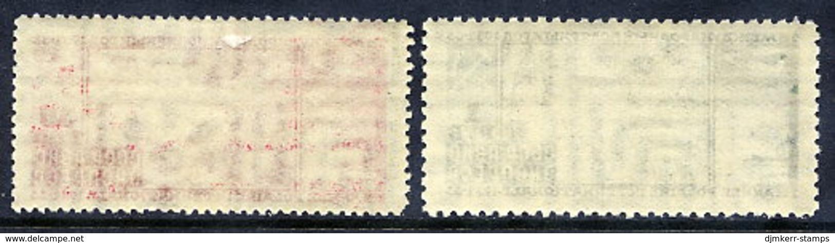 SOVIET UNION 1932 International Polar Year LHM / *.  Michel 410A-411B - 1923-1991 USSR