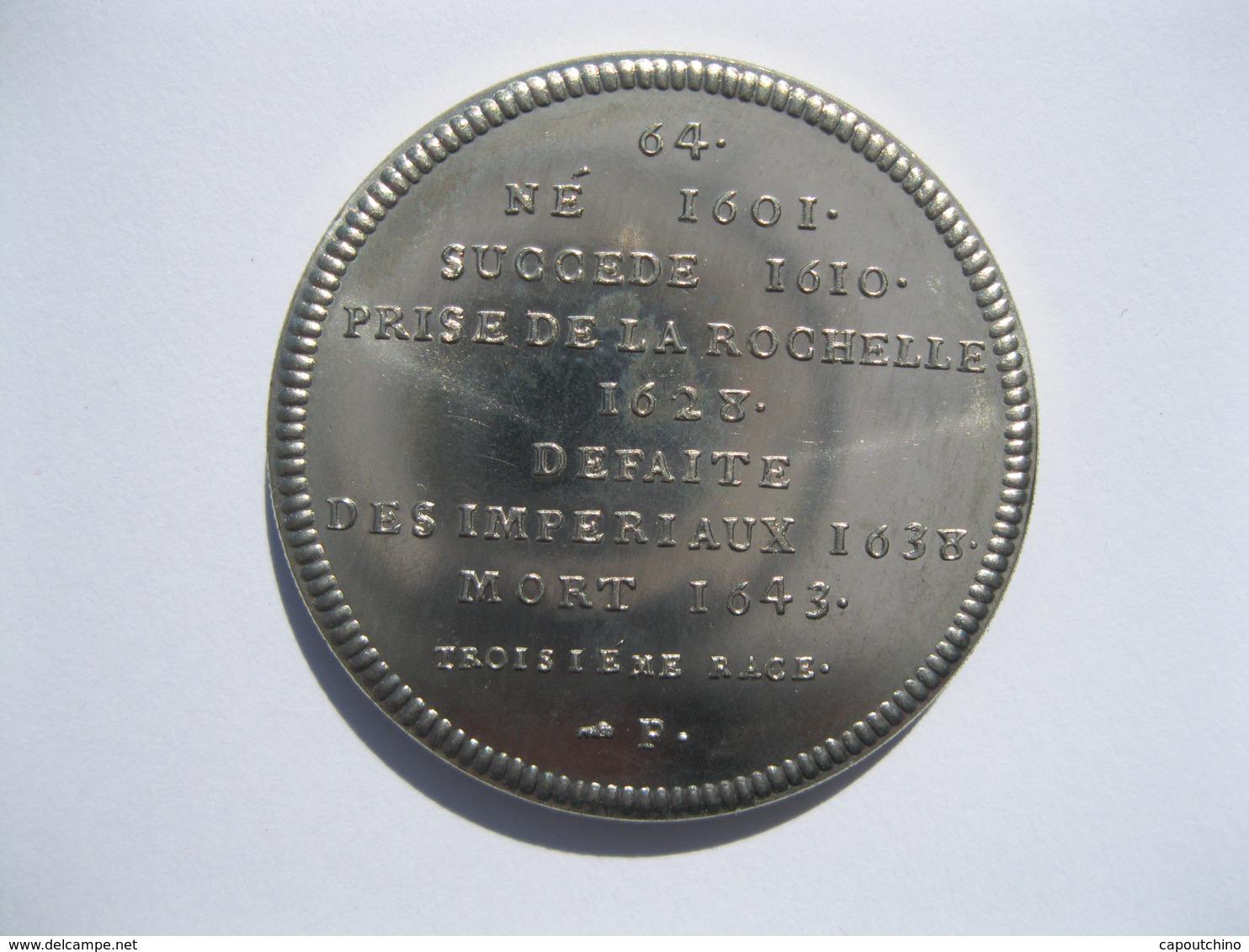 LOUIS XIII  ROY DE FRAN. ET DE NAVAR. - Jetons & Médailles