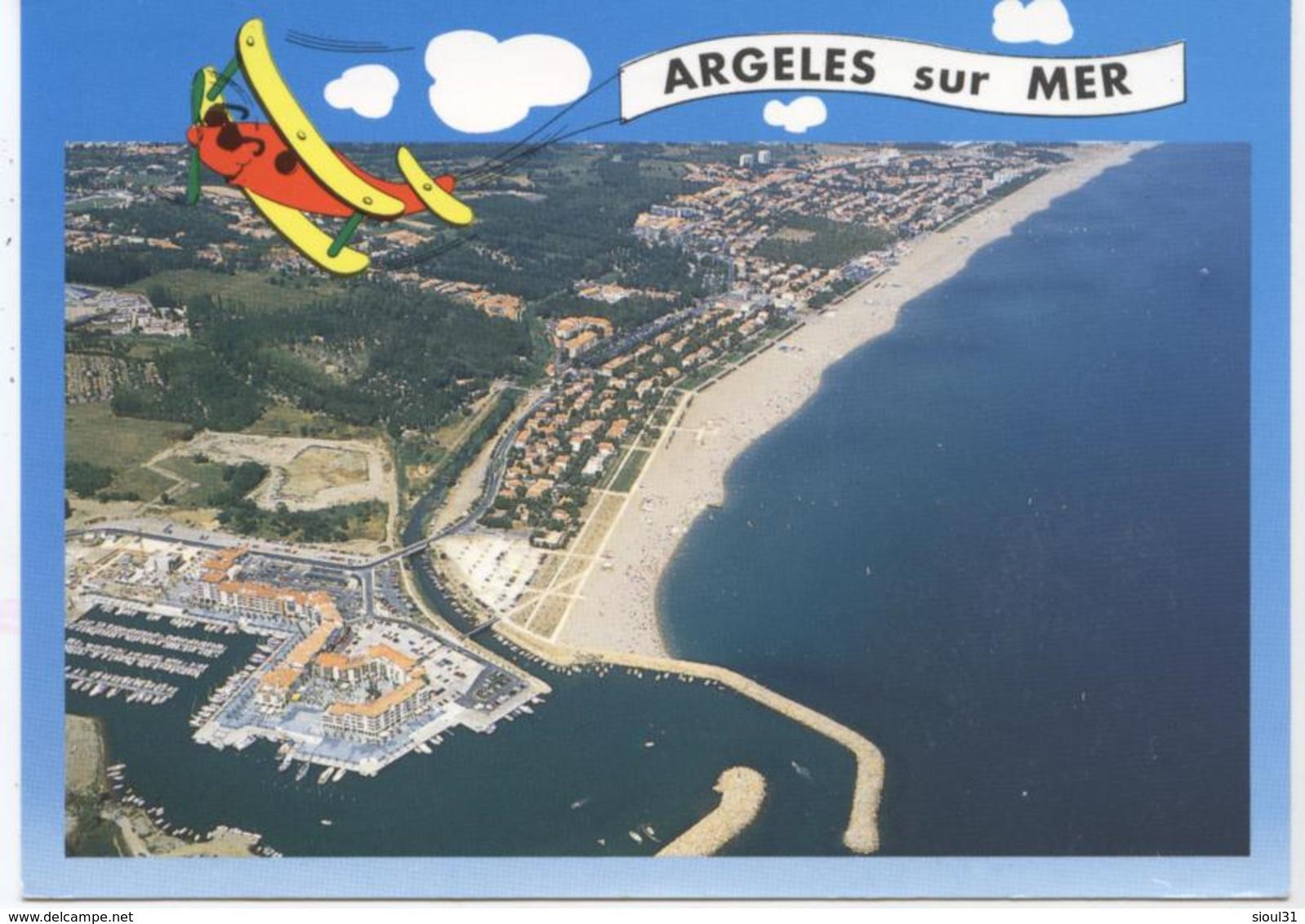 66   ARGELES PLAGE  VUE  GENERALE     CPM  TBE - Argeles Sur Mer