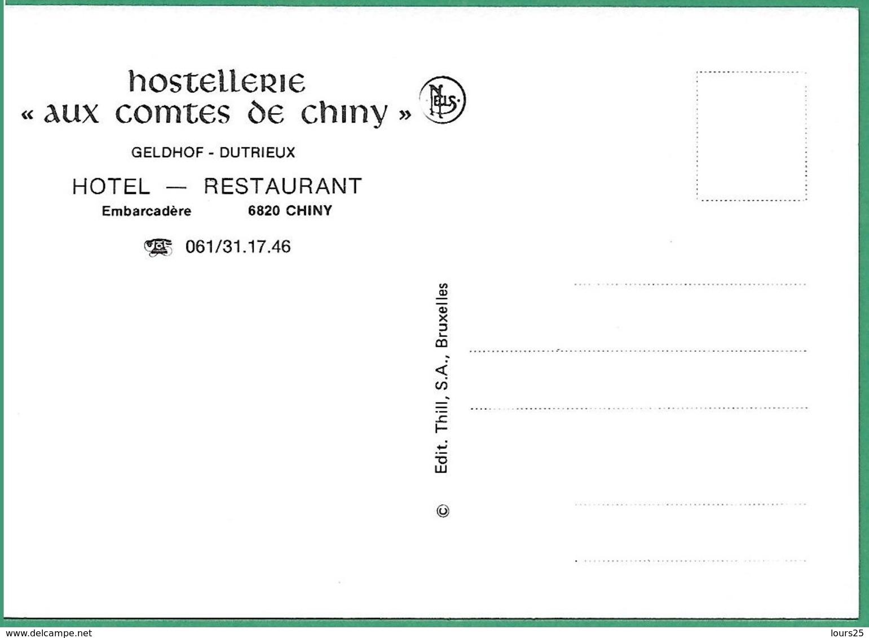 """! - Belgique - Chiny - Hostelletie """"Aux Comtes De Chiny"""" - Chiny"""