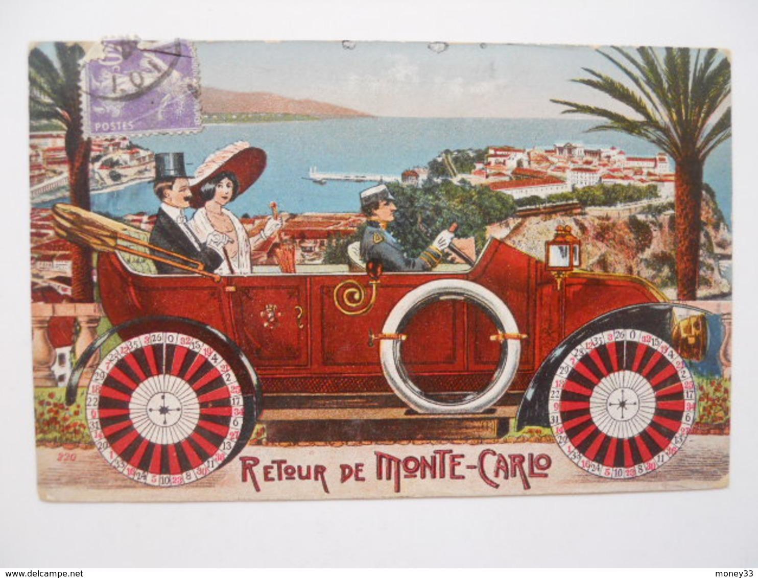 Souvenirs De Monte-Carlo - Retour De Monte-Carlo - Unclassified