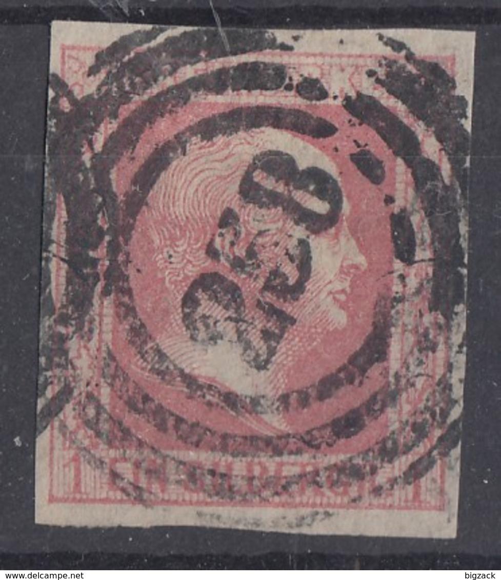 Preussen Minr.6 Gestempelt Nr.-St. 258 Köln - Preussen