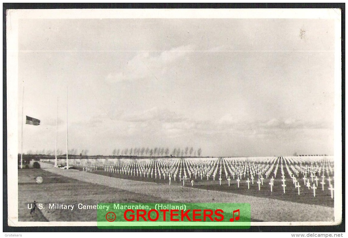 MARGRATEN U.S. Military Cemetery Ca 1950 ? - Margraten