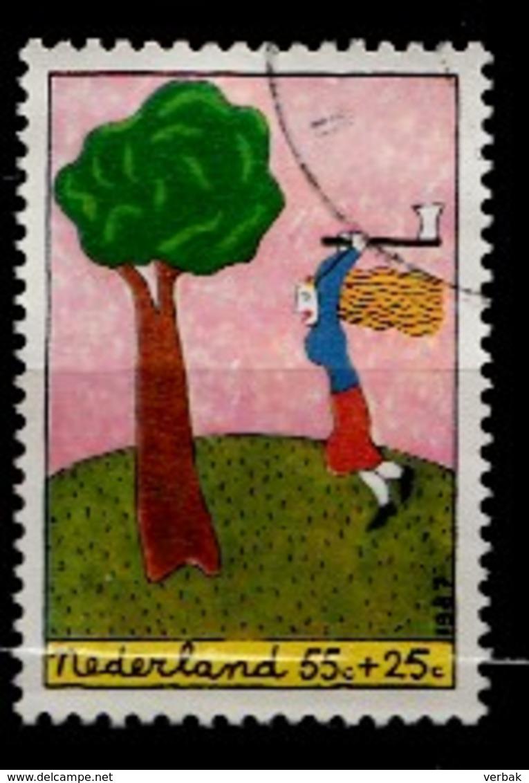 Pays-Bas 1987  Mi.nr. 1328 Für Das Kind  Oblitérés / Used / Gestempeld - Periode 1980-... (Beatrix)