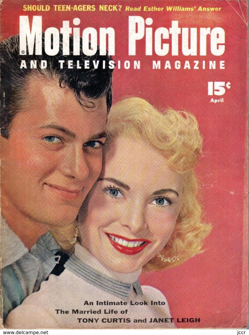 Motion Picture And Televison Magazine - N°9 -  April, 1954 - Revue De Cinéma Américaine - Livres, BD, Revues