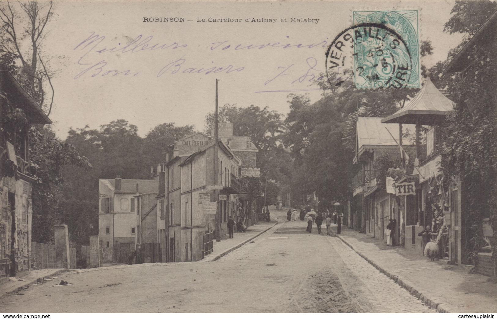 Le Plessis Robinson : Le Carrefour D'Aulnay Et Malabry - Le Plessis Robinson