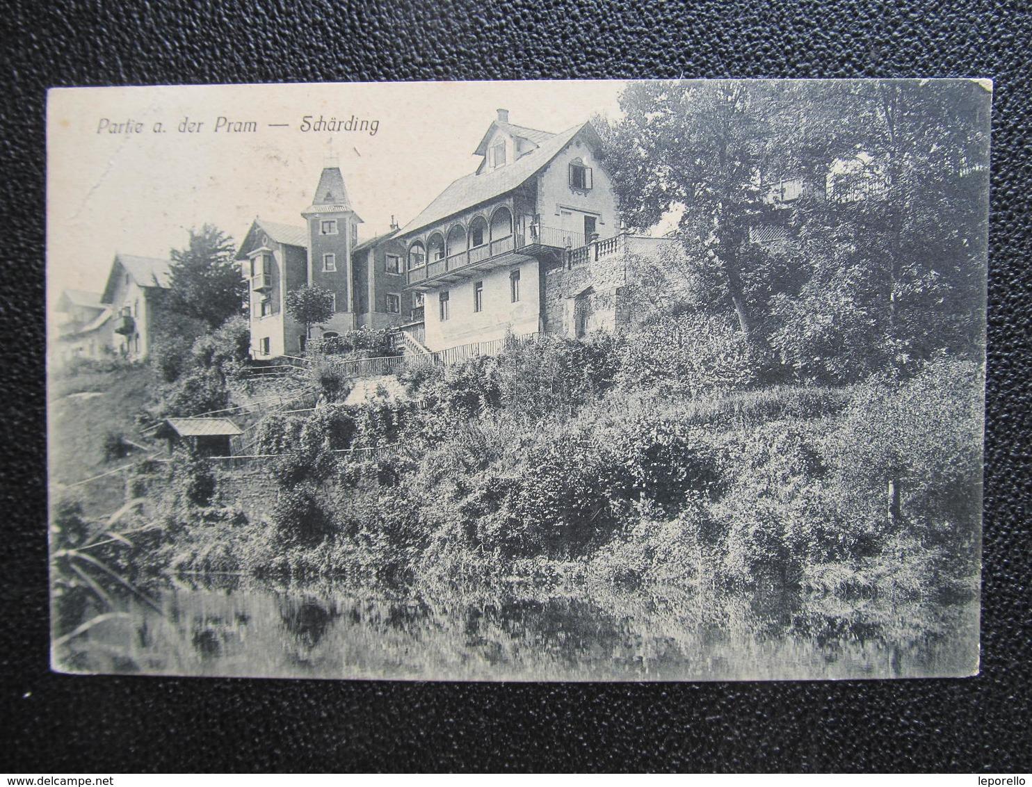 AK SCHÄRDING 1911  //  D*32387 - Schärding