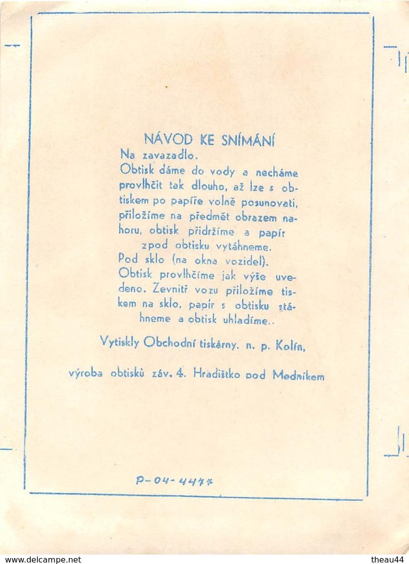 """¤¤  -  Etiquette De L'Hôtel """" PALACE """"  -   REPUBLIQUE TCHEQUE   -   PRAHA , PRAGUE  -  Voir Description   -  ¤¤ - Etiquettes D'hotels"""