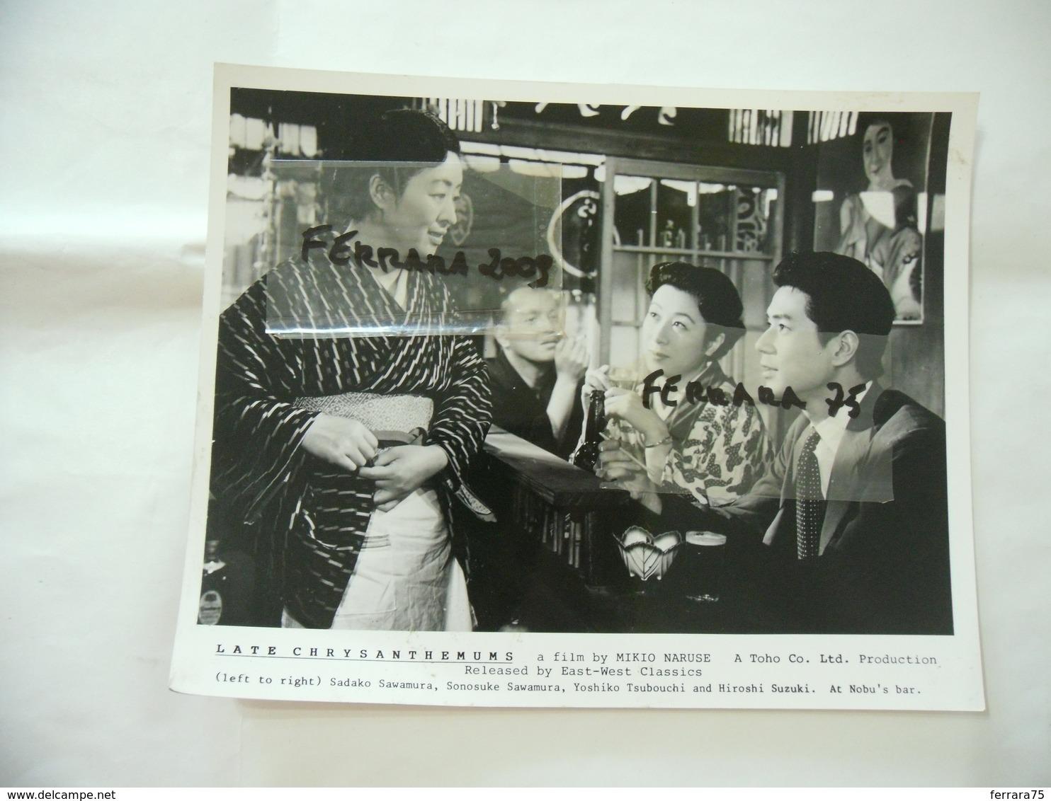 CINEMA:PHOTO FOTO FILM MIKIO NARUSE LATE CHRYSANTHEMUMS HARUKO SUGIMURA KEN UEHARA - Photographs